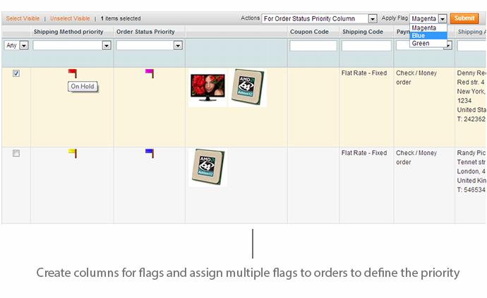 bandeiras ordem magento